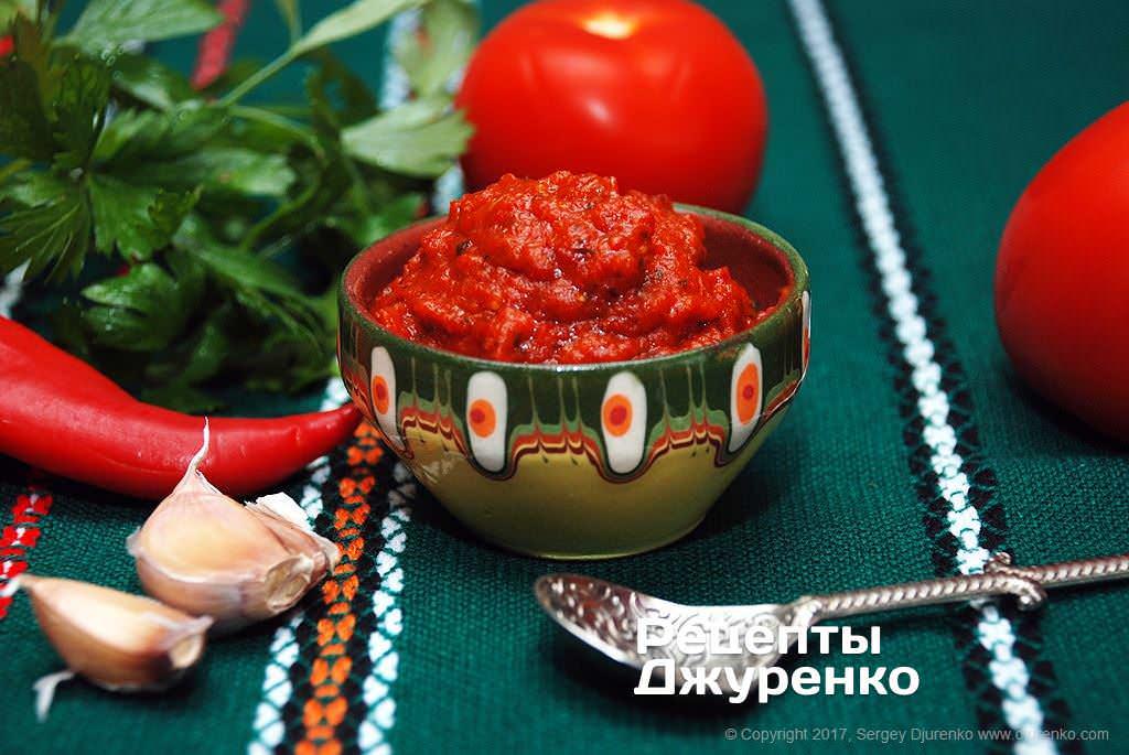 Шаг 12: соус из перца