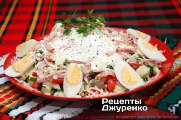 Фото к рецепту: овчарский салат