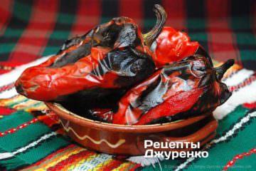 печений болгарський перець