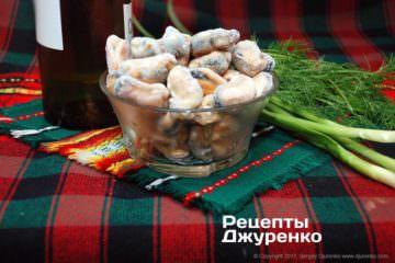 м'ясо мідій