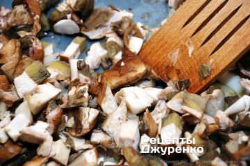 смажені білі гриби