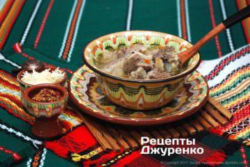 м`ясний суп