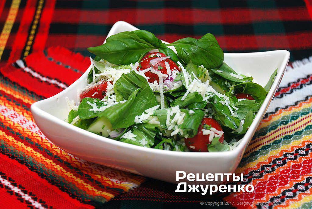 овочевий салат фото рецепту