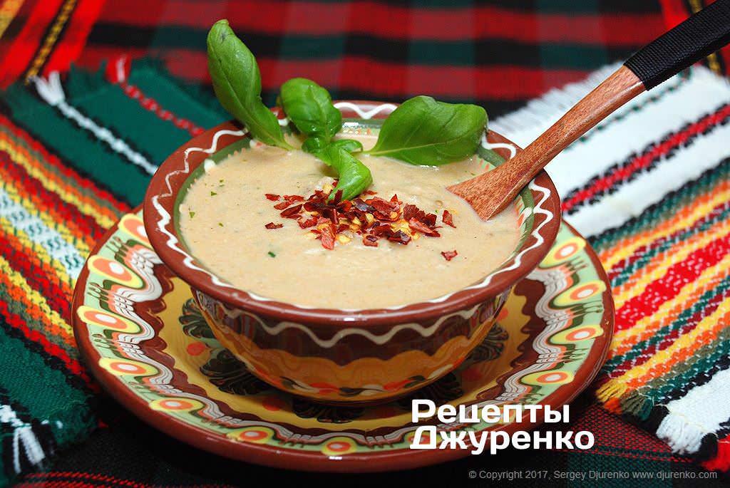 суп из баклажанов фото рецепта