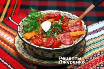 Фото к рецепту: суп изтоматов