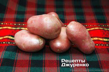 рожева картопля