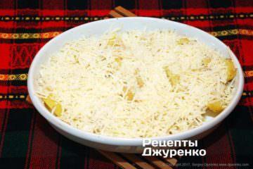 картопля під сиром