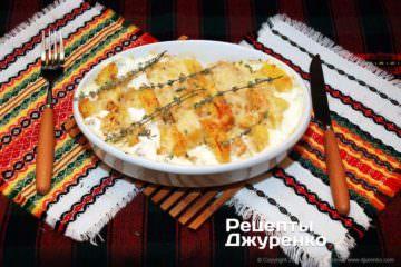 Фото рецепта картофель дофине