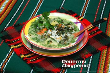 суп зі щавлю