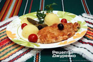 Фото рецепта куриный шницель