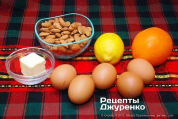 Как приготовить Кантуччи — миндальное печенье. Шаг 2: ингредиенты для печенья
