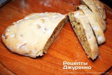 Как приготовить Кантуччи — миндальное печенье. Шаг 24: подготовка печенья