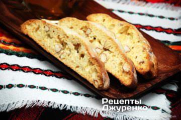 Фото до рецепту: кантучі — мигдальне печиво