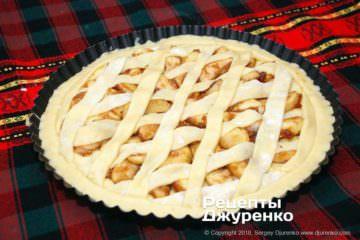 Шаг 5: пирог перед выпечкой