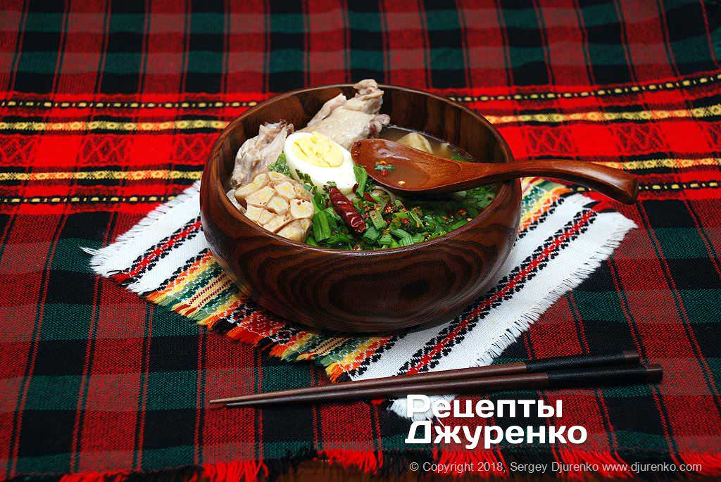 курячий суп з локшиною фото