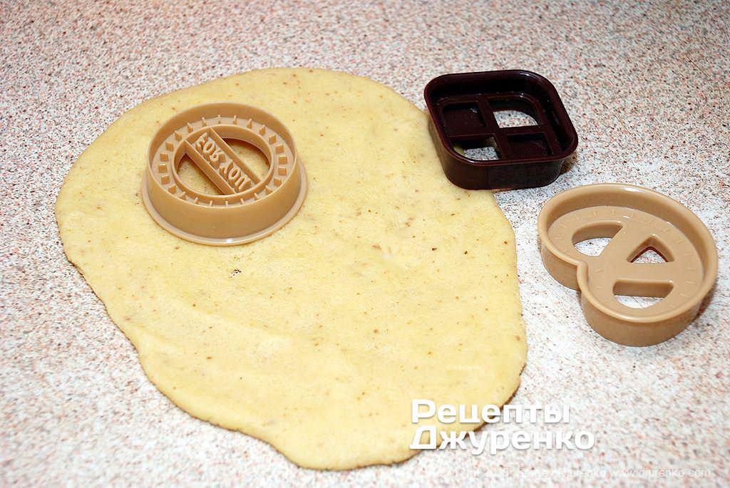 Заготовки печенья.