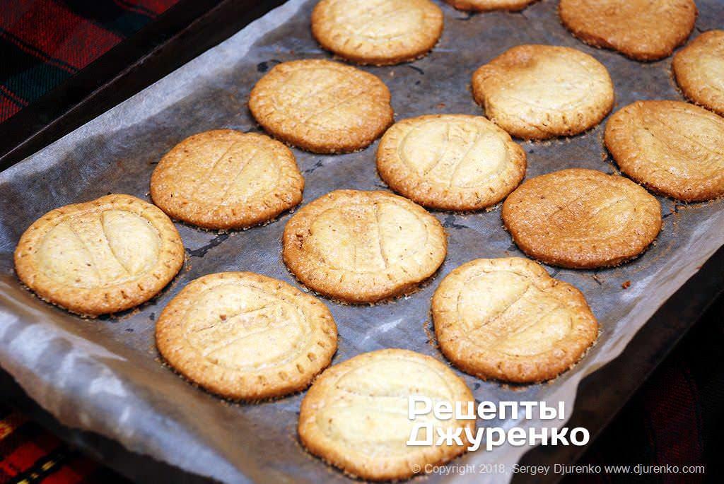 Румяное печенье.