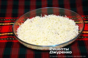 Шаг 5: натертый сыр