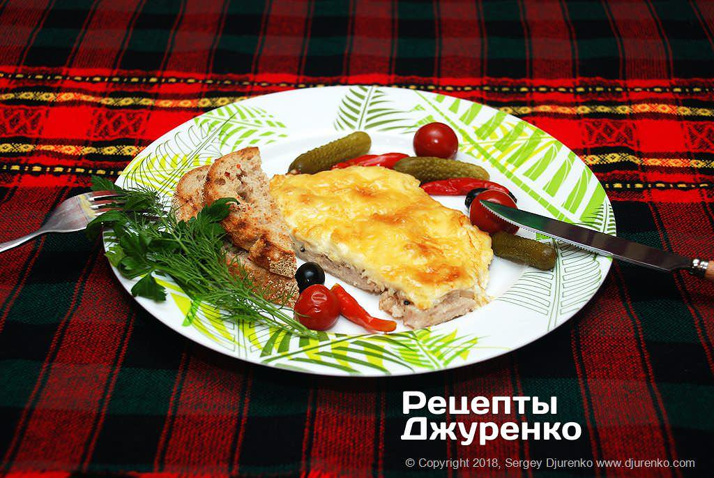 м'ясо по-французьки фото рецепту