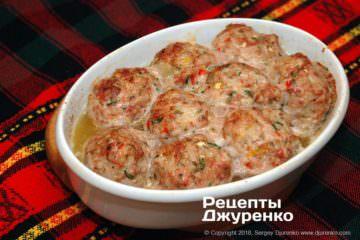 Как приготовить Тефтели срисом втоматном соусе. Шаг 18: запеченные тефтели