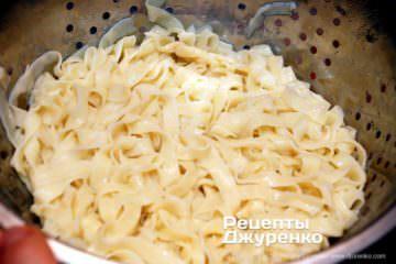 Шаг 6: готовая сваренная домашняя лапша