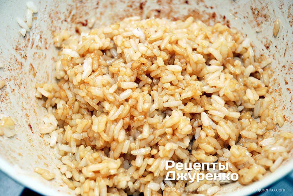 Жареный рис.