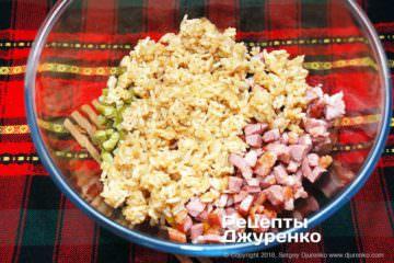 Крок 4: салат з обсмаженим рисом