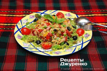 рисовий салат фото рецепту