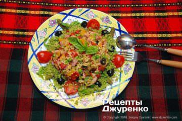 Фото до рецепту: рисовий салат