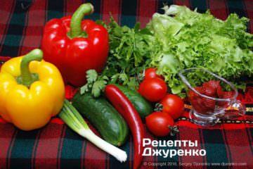 Шаг 4: овощи для закуски