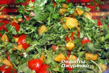 Крок 3: перемішати салат