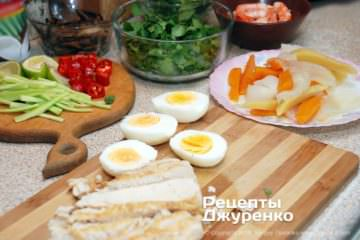 Крок 2: готові компоненти супу