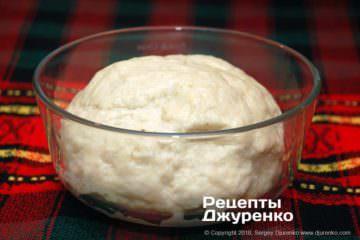 Крок 2: бездріжджове тісто
