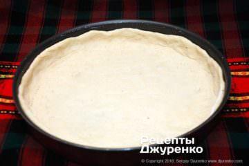 Крок 4: тісто на формі