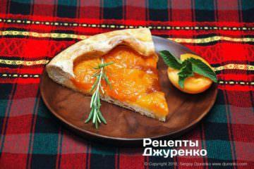 Фото рецепта абрикосовий пиріг