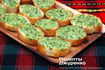 Шаг 3: хлеб с соусом для бутербродов