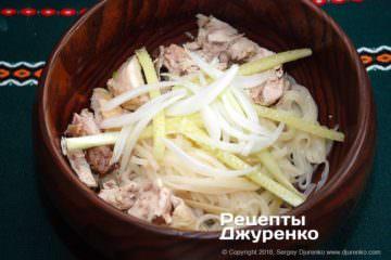 Шаг 12: добавить овощи в суп
