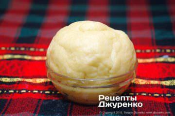 Крок 1: пісочне тісто