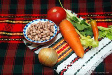 Крок 2: овочі для супу