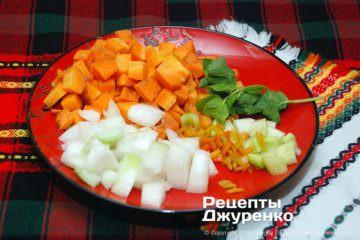 Крок 4: нарізка овочів