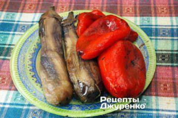 Крок 2: очищені овочі