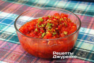 Як приготувати Овочева ікра. Крок 10: подрібнений перець
