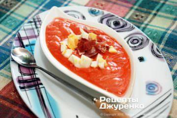 Крок 9: суп з хамоном