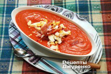 Фото рецепта суп сальморехо