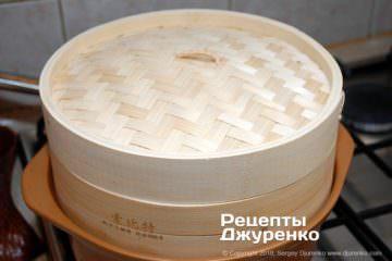 Крок 4: бамбукова пароварка