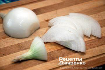 Як приготувати Салат з білої квасолі — піяз. Крок 8: нарізана півкільцями цибуля