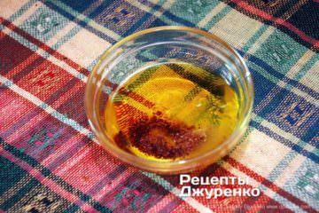 Як приготувати Салат з білої квасолі — піяз. Крок 12: салатна заправка