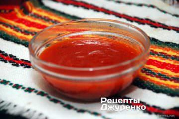 Шаг 6: густой томатный соус