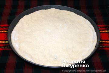 Шаг 2: тесто для пиццы