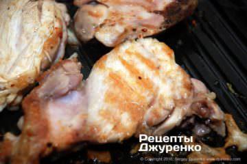 Шаг 4: курятина на гриле